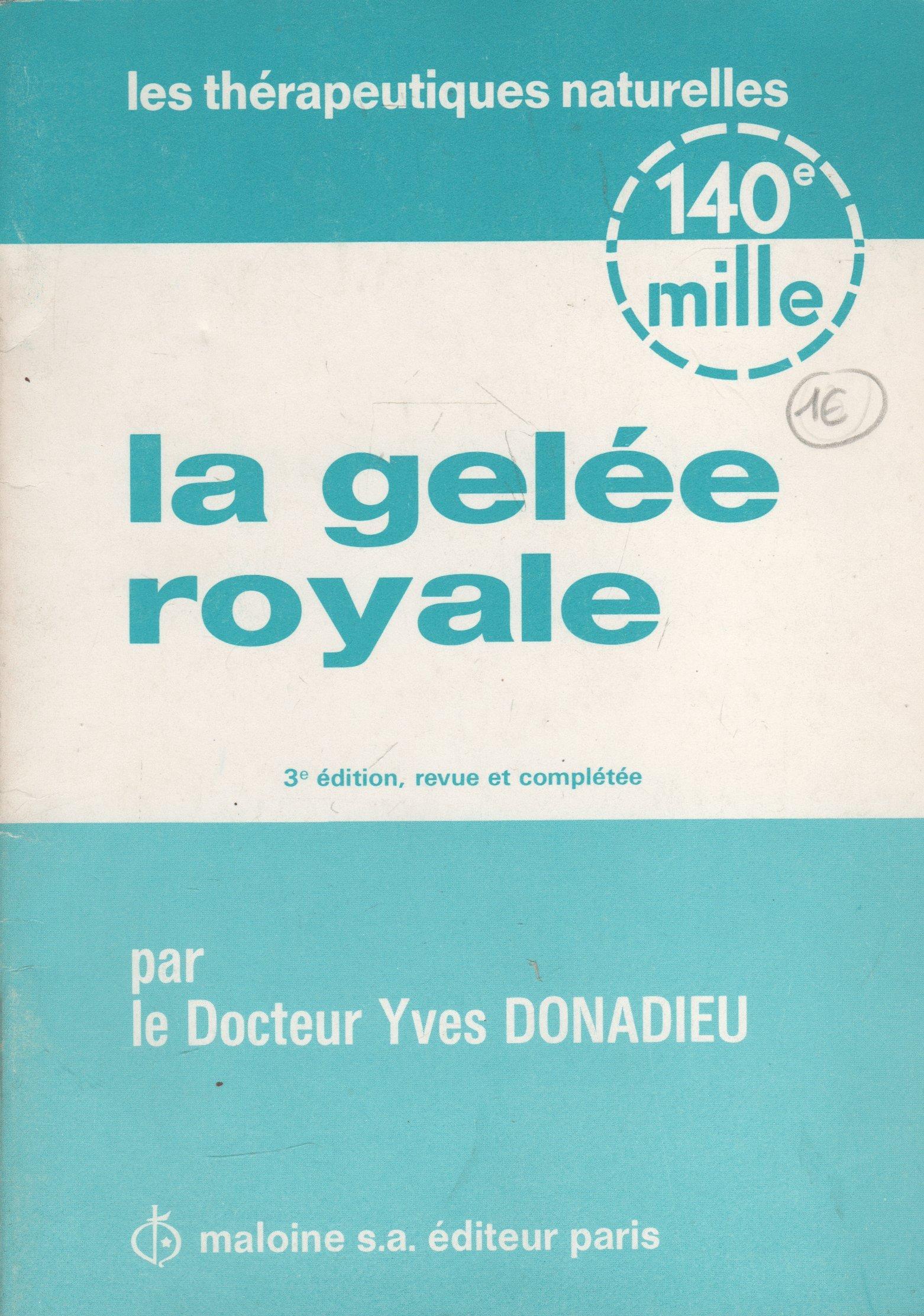 BPA3 La gelee royale - Donnadieu