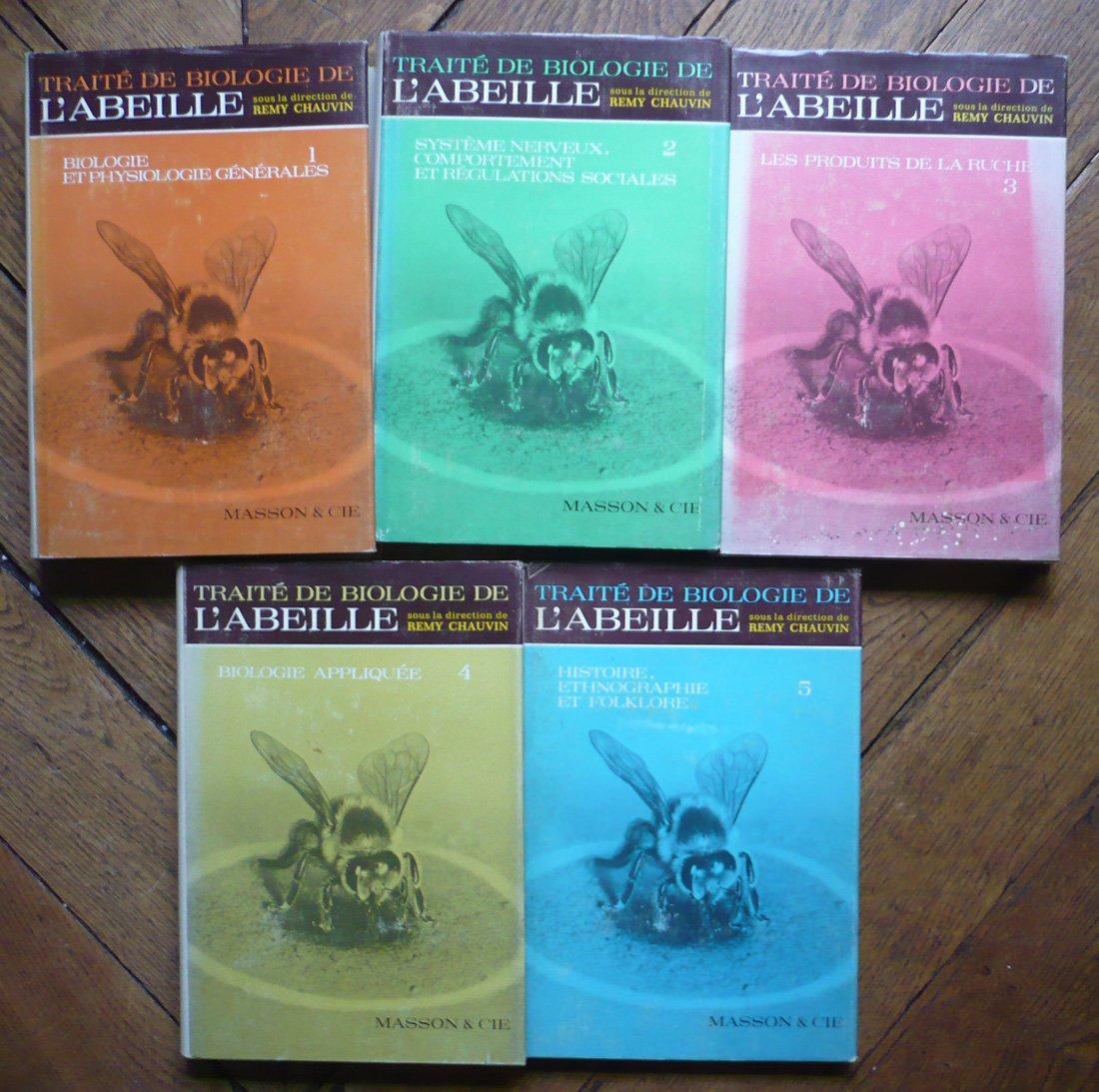 C9-10-11-12 Traite de biologie de labeille - Chauvin
